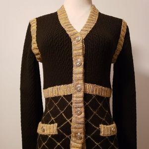 COPY - chanel jacket multicolor silk mohair caham…